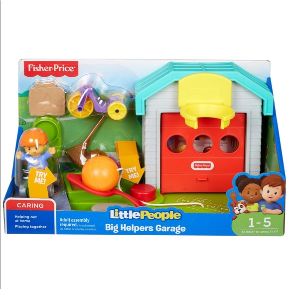 Fisher Price Toys Fisher Price Little People Big Helper Garage Nwt Poshmark